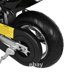 Mini Gas Power Pocket Bike Motorcycle 49cc 4-Stroke Engine For Kids&Teens ABC