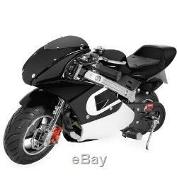 Mini Pocket Bike Kids Adult Gas Motorcycle 40cc 4-Stroke EPA Motor Engine
