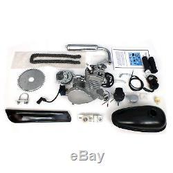 Motorised Bicycle Cycle Petrol Gas Engine Motor Kit 80cc 2 Stroke Pedal Start 2T