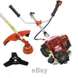 Multi 4 stroke GX35 engine 2 in 1 brush cutter Petrol Hedge Trimmer Chainsaw