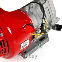 NEW 15HP 4 Stroke OHV Horizontal Gas Engine Go Kart Motor Recoil& Silencer 420CC