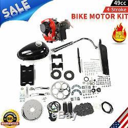 NEW 49CC 4-Stroke Gas Petrol Motorized Bike Bicycle Engine Motor Kit Scooter USA