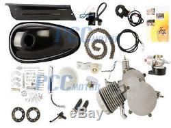 NEW 80CC 2-Stroke Gas Engine Motor Kit For Bicycle Bike H EN05+