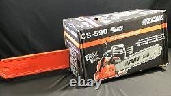NEW ECHO CS-590 Gas Chainsaw 20 in. 59.8cc 2-Stroke Engine