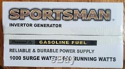 NEW SPORTSMAN Portable Inverter Gas Powered Generator 1000W 4-Stroke OHV Engine