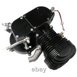 New 2-Stroke100cc Bicycle Motor Kit Bike Motorized Petrol Gas Engine Set Black