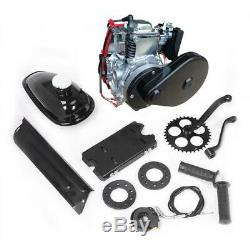 New 49cc 4-Stroke Bicycle Petrol Gas Engine Motor Kit Belt Gear Scooter 45km/h