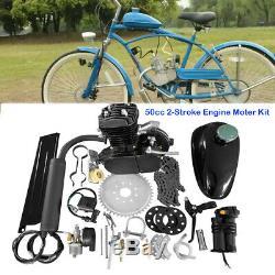 New 50cc 2-Stroke Cycle Bike Engine Motor Petrol Gas Kit For Motorized Bicycle