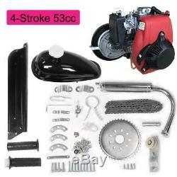 New 53cc 4-Stroke Gas Petrol Motorized Bike Bicycle Engine Motor Kit Scooter US