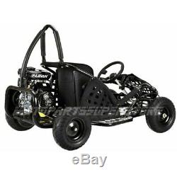 New 80cc Gas Powered roll cage kid Go Kart Off Road sport 4 stroke lifan Engine