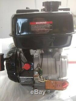 OHV 420CC 4-Stroke Gas Motor Engine Recoil Start 1key horizontal shaft oil-shut