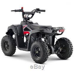 Outdoor ATV Gas 4-Stroke Engine 4-Wheeler Front Back Disc Brake 40cc Engine