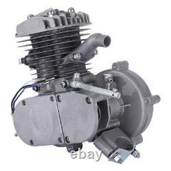 PK80 80cc/66cc Motorized 2 Stroke Petrol Gas Bike Motor Engine Only US Stork
