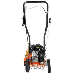 Powermate Lawn Edger Gas Curb Hopping 4-stroke OHV Engine Bevel Adjustment