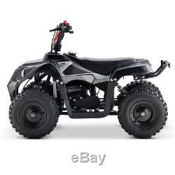 Premium 40cc Gas Off-Road ATV 4-Wheels 4 Stroke Engine Disc Brake F/B -White