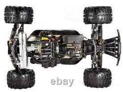 RAMPAGE XT HUGE 1/5 SCALE GASOLINE RC MONSTER TRUCK 30cc 2-STROKE ENGINE