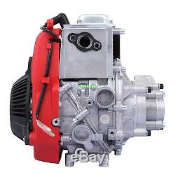Red 49cc 4 Stroke Cycle Motor Kit Motorized Bike Petrol Gas Bicycle Engine New