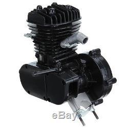 Ridgeyard 80cc 2-Stroke Bike Engine Gas Motor ONLY For Motorized Bicycle Black