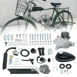 Ridgeyard 80cc Bike 2 Stroke Gas Engine Motor Kit Motorized Bicycle MotorCycle