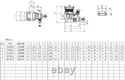 SH GF6 6cc Side Exhaust RC Remote Control Airplane Gasoline 2-Stroke Gas Engine