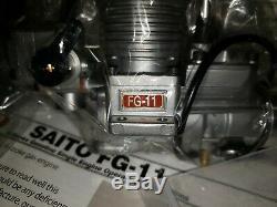 Saito Engine Saito FG 11 gas four stroke NIB
