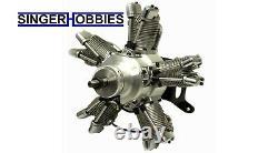 Saito FG-73R5 73cc 5-Cylinder 4-Stroke Gas Radial Engine SAIEG73R5 HH