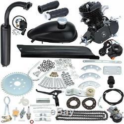 Samger 2 Stroke 80cc Gas Bike Engine Motor Kit DIY Motorized Bicycle 38km/h