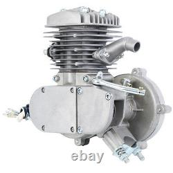 Sliver 50cc 2 Stroke Motor Engine Kit Gas for Motorized Bicycle Bike 38km/hour