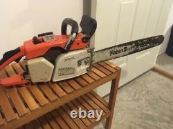 Stihl 031 AV chainsaw, 2 stroke, 48ccm engine
