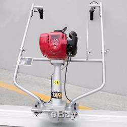Surface finishing concrete screed with Honda 4 stroke Gas engine 10' tamper blade