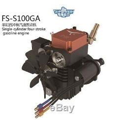 TOYAN RC Engine FS-S100GA 4 Stroke, Gas Powered, Air Cooled. Ships from the USA