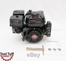 ToolTuff 196cc 6.5 hp Electric Start Gasoline Engine Reliable 4 Stroke Motor