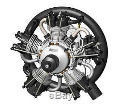 UMS 125cc Gas 5 Cylinder Radial 4 Stroke Engine