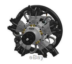 UMS 180cc Gas 5 Cylinder Radial 4 Stroke Engine