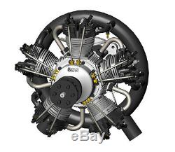UMS 210cc Gas 5 Cylinder Radial 4 Stroke Engine