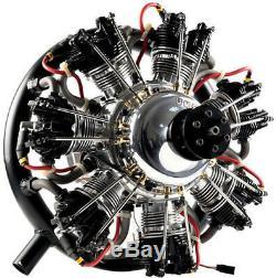 UMS 7-260cc Gas 7 Cylinder Radial 4 Stroke Engine
