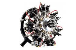 UMS 7-260cc Gas / Petrol 7 Cylinder Radial 4 Stroke Engine UMS7-260