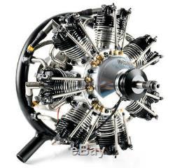 UMS 7-50cc Gas 7 Cylinder Radial 4 Stroke Engine