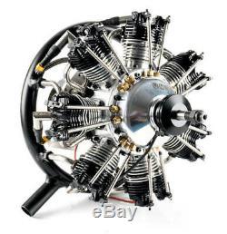 UMS 7-90cc Gas 7 Cylinder Radial 4 Stroke Engine