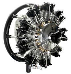 UMS 9-115cc Gas 9 Cylinder Radial 4 Stroke Engine
