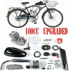 US 100cc Bike Bicycle Motorized 2 Stroke Petrol Gas Motor Engine Kit Set 48km/ h