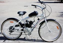 Upgraded 2-Stroke 80cc MOTOR ENGINE KIT FOR GAS MOTORIZED MOTORISED BICYCLE BIKE