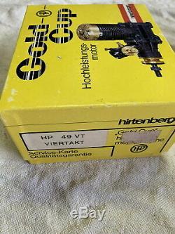 Vintage Nib Radio Control Engine Gas Nitro 4 Stroke Hirtenberger HP 49 Vt Austri