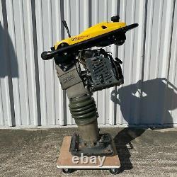 Wacker Neuson BS60-4 Jumping Jack Honda Tamper Gas Engine Rammer 46hrs 4-Stroke
