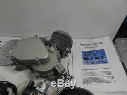 YaeCCC UPGRADED 80cc 2-Stroke Motor Engine Kit Gas for Motorized Bicycle Bike