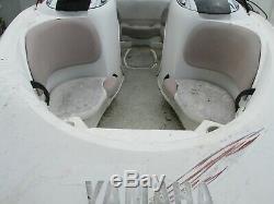 Yamaha LS2000 jet boat twin 2 stroke135hp engines 270hp duel axle trailer alumn